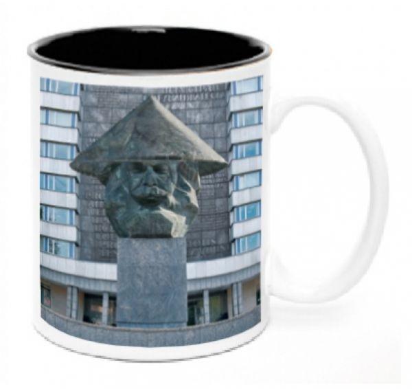 Kaffeetasse Kaffeebecher Chemwitz Karl Marx Motiv