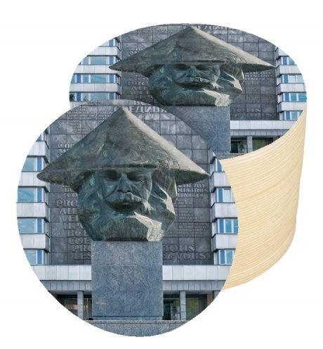Bierdeckel mit Karl Marx Motiv 500 Stück