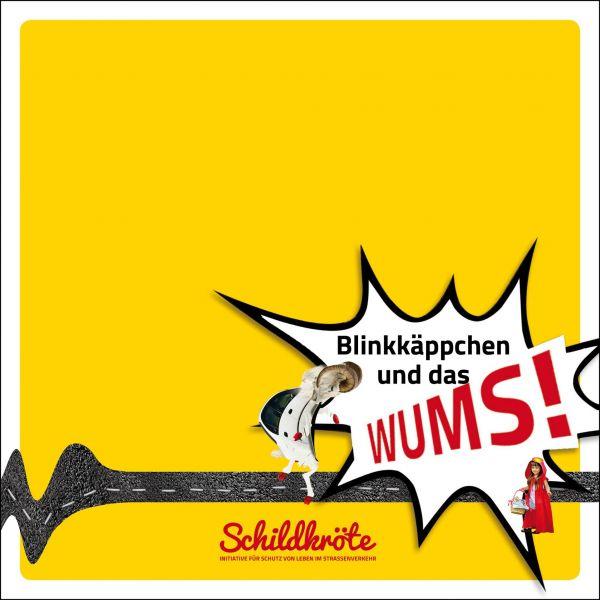 """Kinderbuch Die Geschichte von """"Blinkkäppchen und das WUMS"""""""